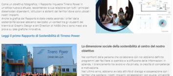 Tirreno Power sostenitibilità ambientale