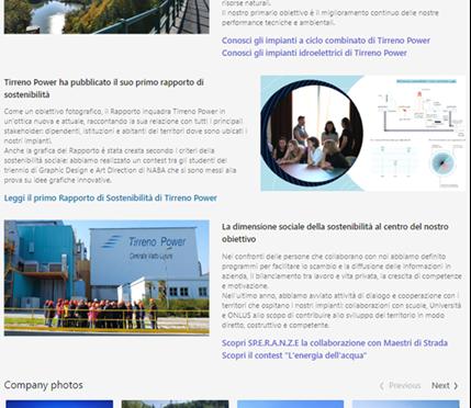 Tirreno Power sostenitibilità ambientale
